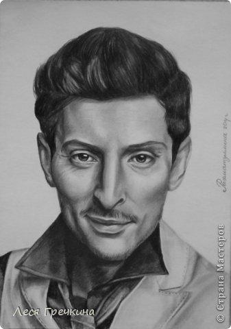 Портреты карандашом фото 1