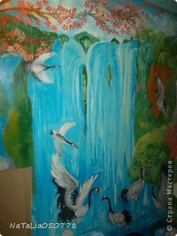 моя работа роспись  хоз . комнаты. фото 2