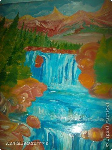 моя работа роспись  хоз . комнаты. фото 4