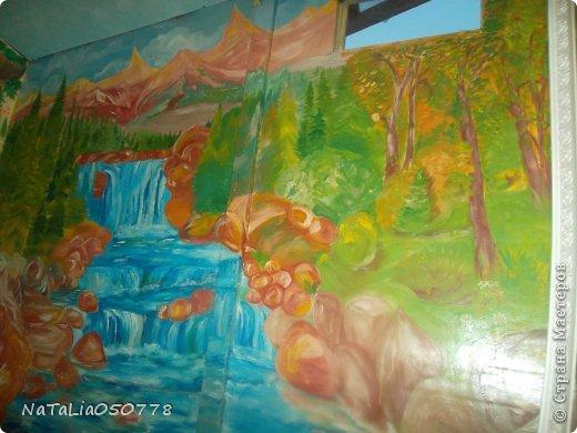 моя работа роспись  хоз . комнаты. фото 3