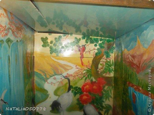 моя работа роспись  хоз . комнаты. фото 5