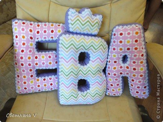 Подушки буквы своими руками оригинальные буква к