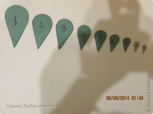 Картина панно рисунок Аппликация Панно Осень  из сердечек + Шаблоны Бумага фото 8