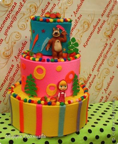 Бутафорский детский тортик. фото 2