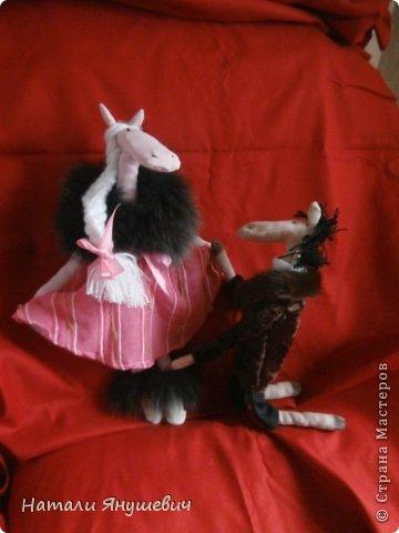 """Подарок к Новому 2014 году """"Конь в пальто и кабыла в манто' фото 5"""