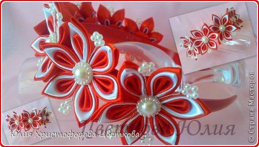 В красно-белом цвете. фото 1