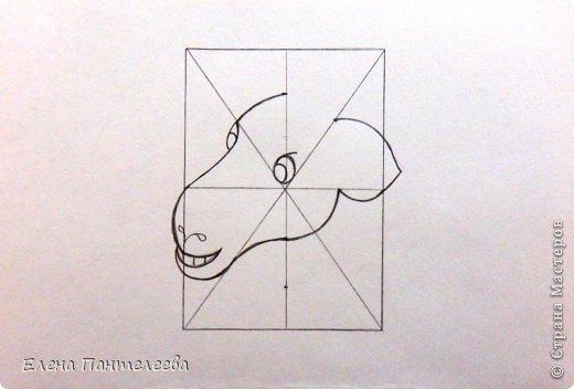 Так как 2015 год козы (овцы), предлагаю нарисовать оба варианта по одной схеме. фото 17