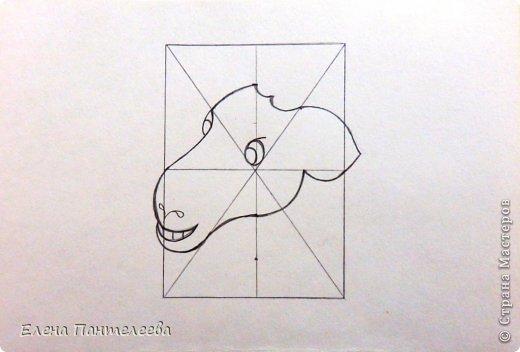 Так как 2015 год козы (овцы), предлагаю нарисовать оба варианта по одной схеме. фото 18