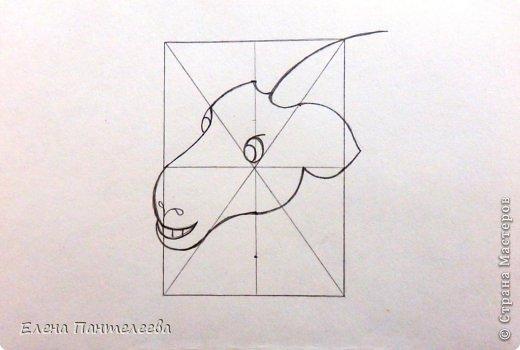 Так как 2015 год козы (овцы), предлагаю нарисовать оба варианта по одной схеме. фото 19