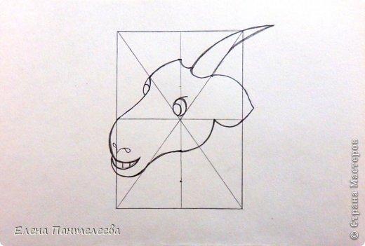 Так как 2015 год козы (овцы), предлагаю нарисовать оба варианта по одной схеме. фото 20