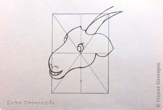 Так как 2015 год козы (овцы), предлагаю нарисовать оба варианта по одной схеме. фото 21