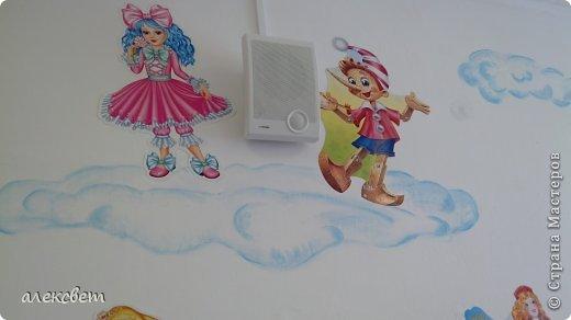 Здравствуйте , я сегодня поделюсь с Вами как в детском саду можно быстро и красиво украсить стену для детей за один сонный час. фото 5