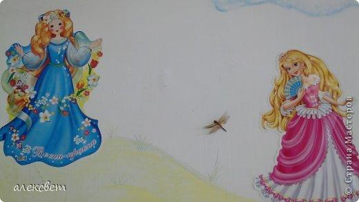 Здравствуйте , я сегодня поделюсь с Вами как в детском саду можно быстро и красиво украсить стену для детей за один сонный час. фото 6