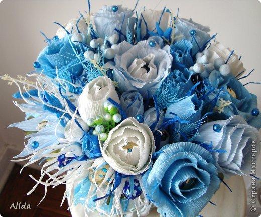 Наверное,что есть особенное в голубом цвете, ведь недаром Остап Бендер мечтал получить свой миллион, на блюдечке, с голубой каемочкой. фото 1