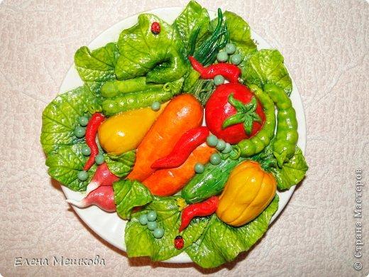 Овощная тарелочка фото 1