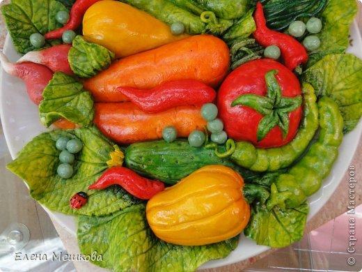 Овощная тарелочка фото 2
