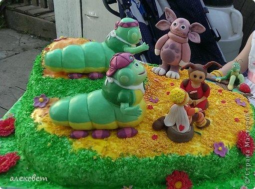 Здраствуйте. Вот такой торт Нина  сама приготовила   для своей доченьки Насте на 2 годика. фото 8