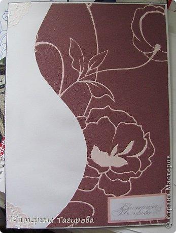 Делала открытку впервые, многие идеи почерпнула на просторах инета, кое-что сама, к Дню Рождения подруги я готовилась, все-таки ЮБИЛЕЙ! фото 7