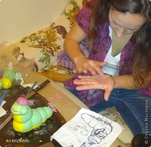 Здраствуйте. Вот такой торт Нина  сама приготовила   для своей доченьки Насте на 2 годика. фото 15