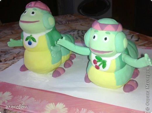 Здраствуйте. Вот такой торт Нина  сама приготовила   для своей доченьки Насте на 2 годика. фото 19