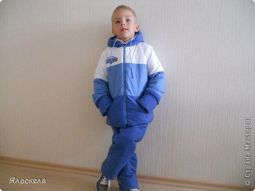 Для осенне-зимней поры сшила для внука два комплекта верхней одежды фото 2