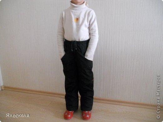 Для осенне-зимней поры сшила для внука два комплекта верхней одежды фото 5