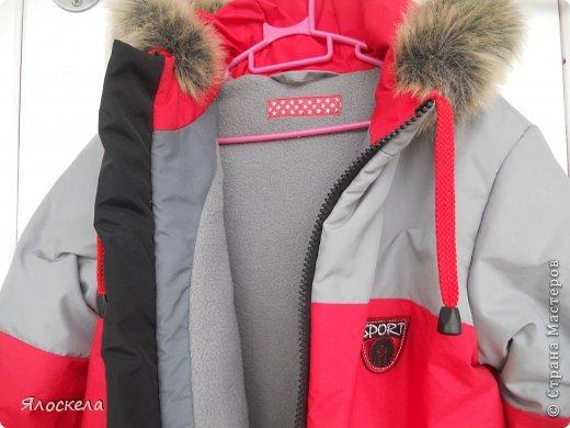 Для осенне-зимней поры сшила для внука два комплекта верхней одежды фото 6