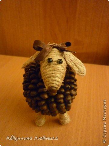 Моя овечка Стеша - кофейная!!! Расскажу немного как делала, потому что много вопросов задают по работам. Так что может кому и пригодится мой мастер-класс!!! фото 1