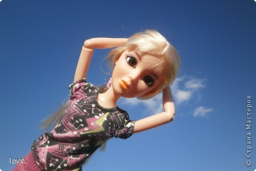 Сегодня я покажу своих кукол.Агатка: фото 10