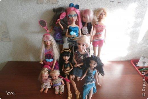Сегодня я покажу своих кукол.Агатка: фото 21