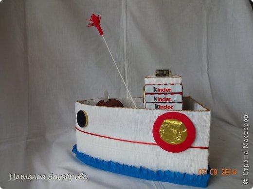 Попыталась сделать кораблик из мультика для мальчика 4-х лет. фото 2