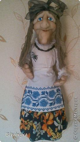 Моя первая кукла в этой технике.Делала по мк Ликмы,за что ей огромное спасибо.Кукла-пакетница,ее рост 80 см фото 1