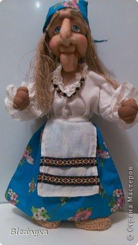 Моя первая кукла в этой технике.Делала по мк Ликмы,за что ей огромное спасибо.Кукла-пакетница,ее рост 80 см фото 3