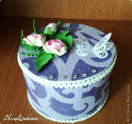 В подарок маме на День Рождения сотворилась такая шкатулочка для хранения украшений. фото 1