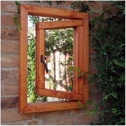 Зеркала в саду это новое в садовом дизайне. Они расширяют пространство, создают иллюзию и маленький сад превращается в большой.  фото 1