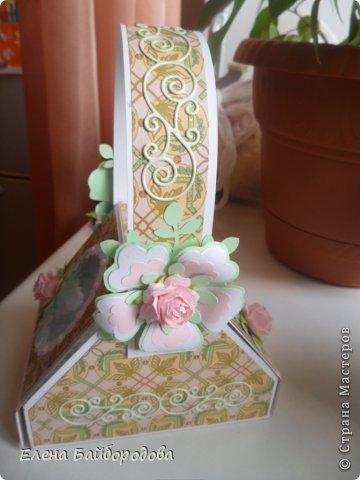 Привет всем жителям Страны Мастеров! Хочу показать свои новые рукоделочки. Начну с коробочки-корзинки. Делала по этому МК http://inkido.blogspot.ru/2010/11/tutorial-pa-gave-box.html фото 5