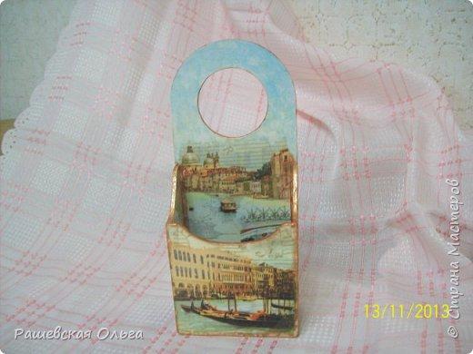 Это первый держатель для телефона. Венеция- уже давно подарен. фото 1
