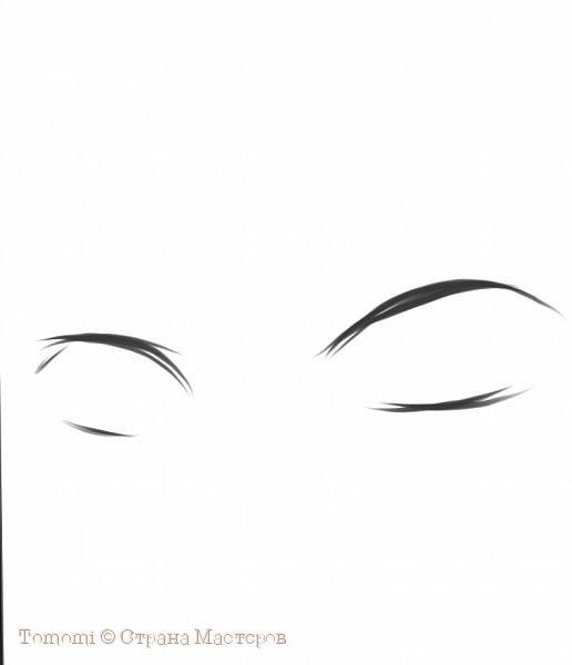 Рисуем Аниме глаза. фото 2