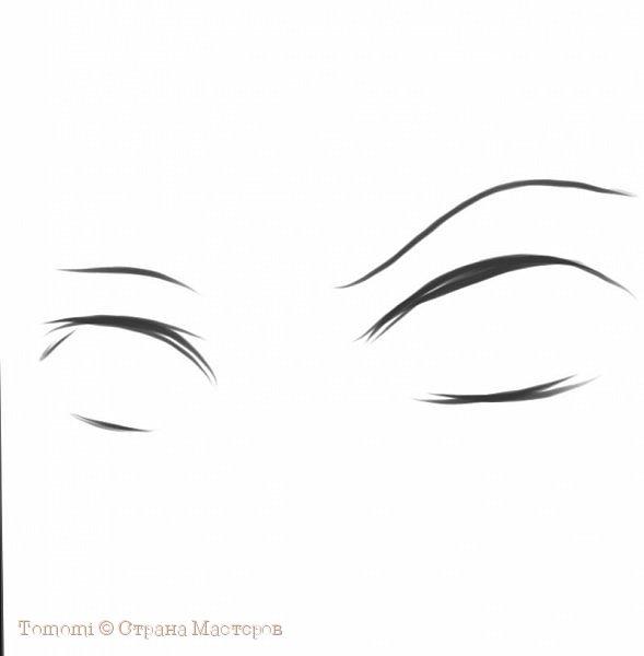 Рисуем Аниме глаза. фото 3