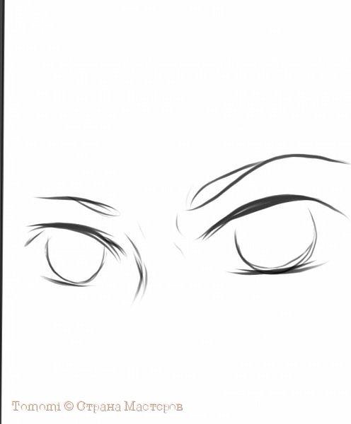 Рисуем Аниме глаза. фото 5