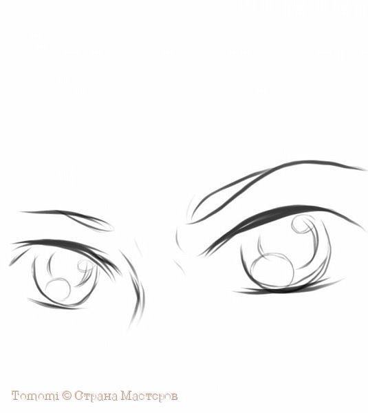 Рисуем Аниме глаза. фото 6