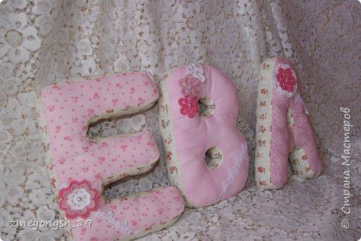 Мягкие буквы ЕВА фото 1