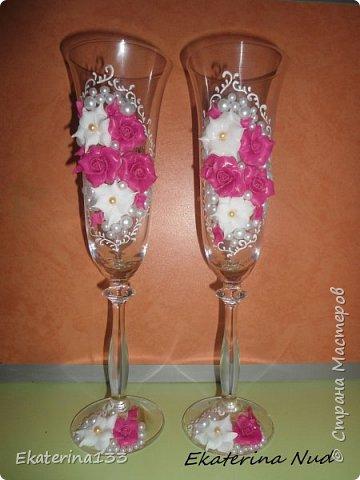 Свадебные бокалы! фото 1