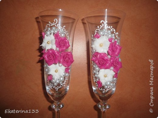 Свадебные бокалы! фото 2