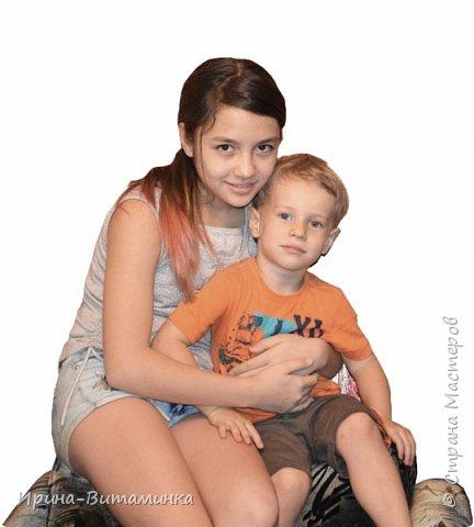 Любимые доченька и племяшка фото 2