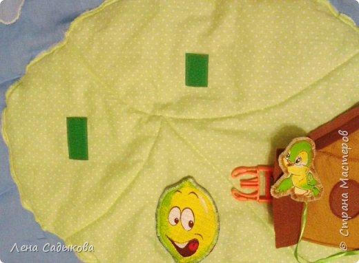 Добрый вечер дорогие жители страны! Сегодня на одном дыхании сшила развивающий коврик для своего сыночка. Качество фото конечно оставляет желать лучшего, но так хотелось вам его показать. фото 3