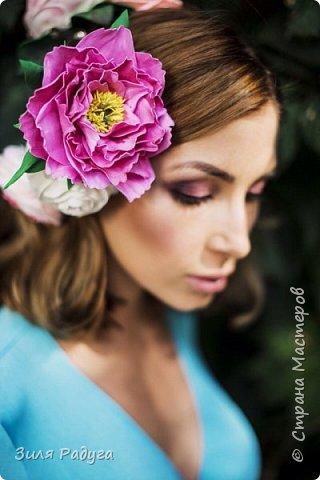 Фотосессия с моими цветами фото 2