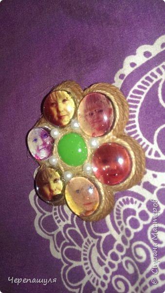 Магнитик с дочиными фотками))) фото 2