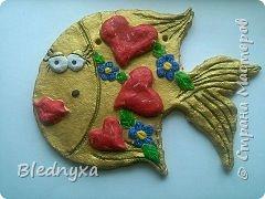 рыбка получилась очень любвиобильная)))и не простая,а золотая))) фото 1