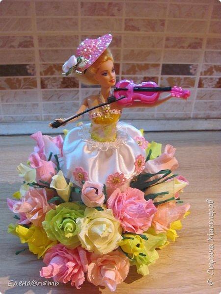 Именинница ходит в музыкальную школу,вот и кукла -коллега для неё! фото 1